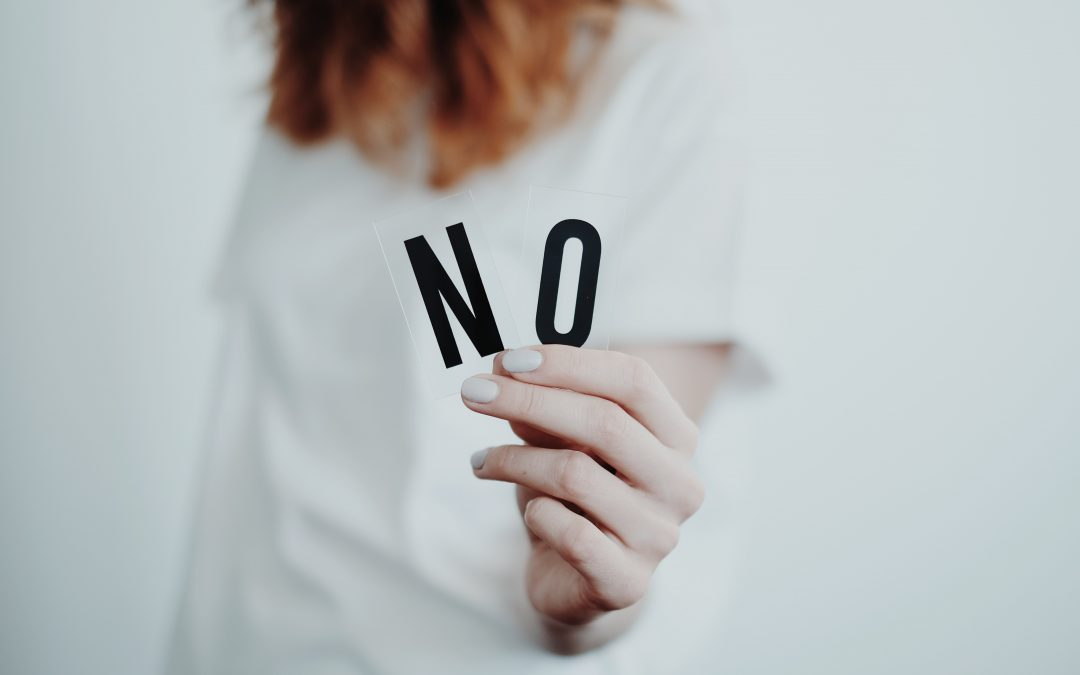Savoir dire Non!